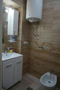 A bathroom at MK apartments 2