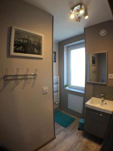 A bathroom at Studio Balsan