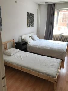 Letto o letti in una camera di Apartment Zaventem Brussels Airport J