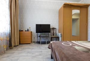 Телевизор и/или развлекательный центр в Apartment on Ploshchad Lenina 12/2