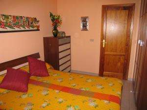 Cama o camas de una habitación en Atico Orion
