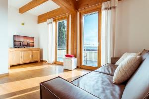Posezení v ubytování Appartamento Rocchetta