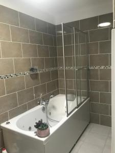 Salle de bains dans l'établissement Le Repos