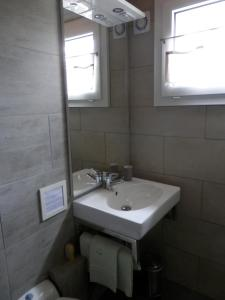 A bathroom at La Galerne