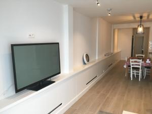 A television and/or entertainment center at apartment Seaside