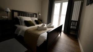 Cama o camas de una habitación en Tabakalera, San Sebastián.