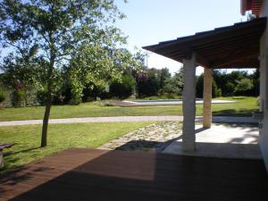 A garden outside Casa Das Laranjeiras