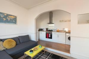 Küche/Küchenzeile in der Unterkunft Flat 1 Marlborough House