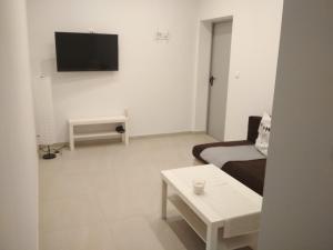 Telewizja i/lub zestaw kina domowego w obiekcie Apartament Scorpion Modlin