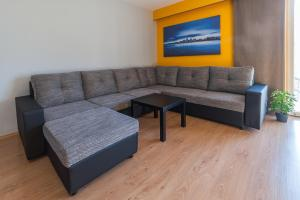 A seating area at Budapest Minimal Style - You will love it!