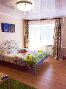 Bishkek House Apartment 3 객실 침대