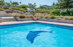 The swimming pool at or near Spiros-Soula Family Hotel & Apartments