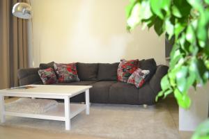 A seating area at Eurovea Apartments