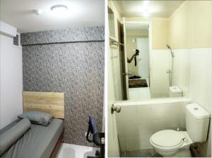 A bathroom at Apartemen Kalibata City