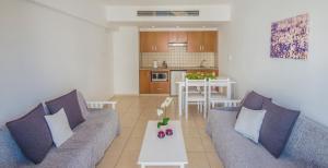 Гостиная зона в Alva Hotel Apartments