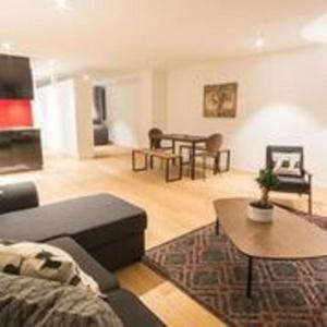 Zona de estar de Hirschenplatz Apartments