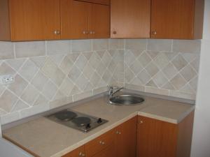 A kitchen or kitchenette at Villa Sofija