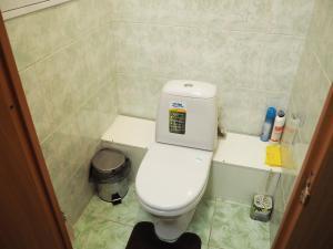 A bathroom at Apartments on Dobrolubova №1