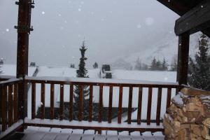 Ski Andorra Tarter Chalet Lodge during the winter