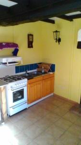 A kitchen or kitchenette at La Butte Monlien
