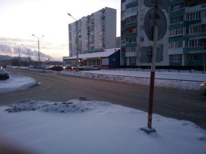 Apartment on Neftyannikov 85 зимой