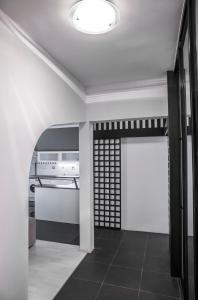 A bunk bed or bunk beds in a room at Apartment Kosicka