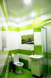 A bathroom at Ratusha Apartments