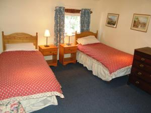 A bed or beds in a room at Nokka