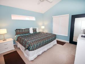 Un ou plusieurs lits dans un hébergement de l'établissement 4723 Crystal Cove 4 Bedroom Villa