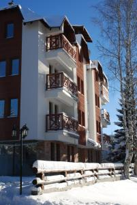 MujEn Comfort Apartments during the winter