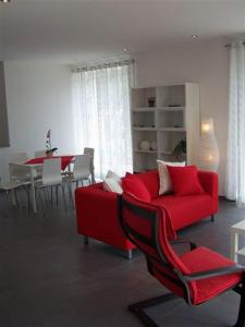 A seating area at Casa Belfiore
