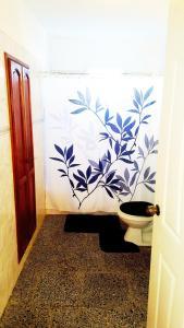 A bathroom at Casa Yahima Municipio Playa