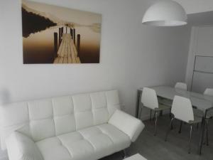 A seating area at Apartamento Corralejo Feeling