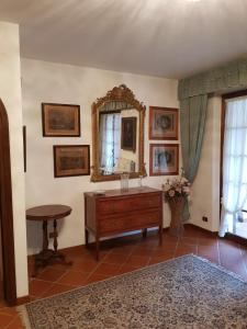 A kitchen or kitchenette at Villetta Miramonti