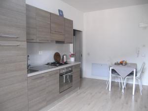 Kuchyň nebo kuchyňský kout v ubytování Furstenvilla