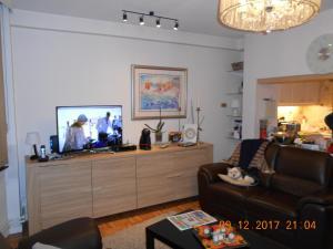 Een TV en/of entertainmentcenter bij prettig verblijf