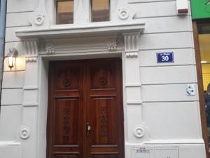 The facade or entrance of Blueberry Apartments