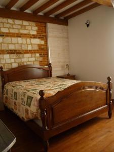 Un ou plusieurs lits dans un hébergement de l'établissement Le Côte d'Albâtre