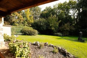 A garden outside Villa Oliveto