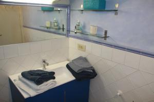 Ванная комната в Casa Indipendente 50 Metri Dal Mare