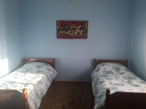 A bed or beds in a room at Vila Ridvani