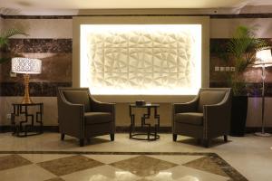 The lobby or reception area at Jeddah Kinan