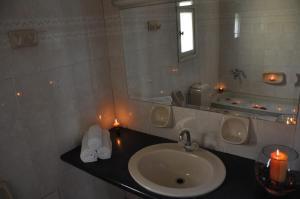 Ένα μπάνιο στο Διαμερίσματα Ήλιος και Θάλασσα