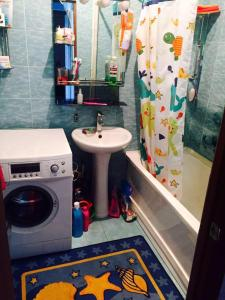 A bathroom at Apartment on Nadibaidze 3