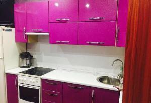 A kitchen or kitchenette at Apartment on Nadibaidze 3
