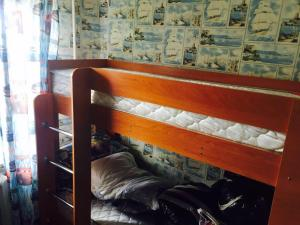 A bunk bed or bunk beds in a room at Apartment on Nadibaidze 3