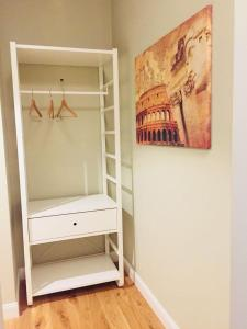 A bunk bed or bunk beds in a room at Farnesina Apartment