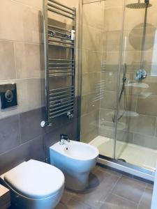 A bathroom at Farnesina Apartment