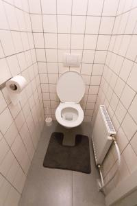 A bathroom at Čajakova Apartments