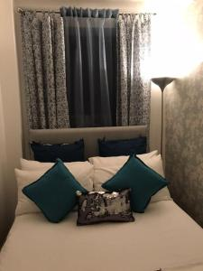 フィンチリー アパートメントにあるベッド